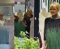 Grażyna Torbicka przebiera w sukienkach Violi Piekut