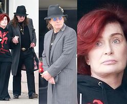 66-letnia Sharon i 70-letni Ozzy Osbourne'owie wracają z lunchu, trzymając się za ręce (FOTO)