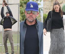 Ozdrowiały Ben Affleck jedna się z Jennifer Garner na boisku baseballowym