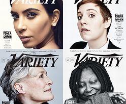 "Kim Kardashian, Dunham, Close i Whoopi na okładkach ""Variety""! (FOTO)"