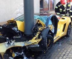 Rozbił Lamborghini za 600 TYSIĘCY!