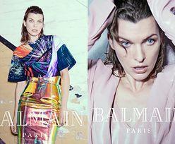 42-letnia Milla Jovovich w futurystycznej kampanii Balmain
