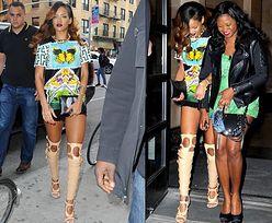 Rihanna w butach za 4 TYSIĄCE DOLARÓW! (ZDJĘCIA)