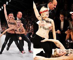 Działaczki Femenu ROZEBRAŁY SIĘ NA WYBIEGU! (FOTO)