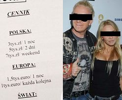 """Radosław M. i Tomasz L. PŁACILI ZA SEKS """"MODELKOM""""?! (ZOBACZ CENNIK!)"""