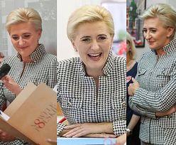 Elegancka Agata Duda zadaje szyku w Paryżu. Ikona stylu? (FOTO)