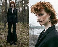 """Magdalena Jasek pozuje w lesie dla ukraińskiego """"Vogue'a"""""""