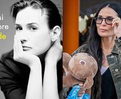 """Demi Moore wspomina związek z Ashtonem Kutcherem i poronienie ich córki. """"Miała mieć na imię Chaplin Ray"""""""