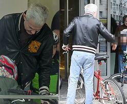 Hubert Urbański zabrał córki na wycieczkę rowerową do TVN-u