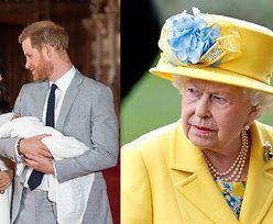 """Książę Harry i Meghan Markle NIE PYTALI królowej o zgodę na użycie imienia """"Lilibet""""! Prawnuczkę pokazali jej na Zoomie..."""