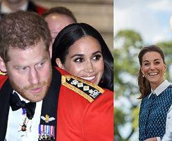 """Meghan Markle i książę Harry byli ZAZDROŚNI o Kate i Williama? """"Nie chcieli grać DRUGOPLANOWYCH RÓL"""""""