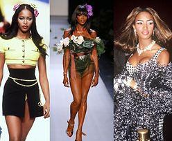 Ikona wybiegu, diwa, naczelna skandalistka świata mody - Naomi Campbell kończy 50 LAT! (STARE ZDJĘCIA)