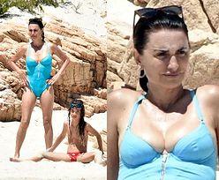 Zakochani Penelope Cruz i Javier Bardem korzystają z wakacji we Włoszech, pluskając się z pociechami w lazurowej wodzie (ZDJĘCIA)