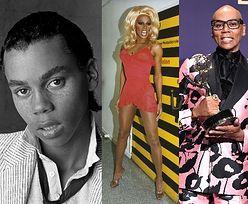RuPaul skończył 60 lat. Zobaczcie, jak się zmieniała i czego dokonała na przestrzeni lat najsłynniejsza drag queen na świecie (ZDJĘCIA)