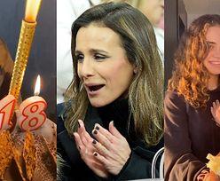 """Sara Boruc cieszy się z dwóch tortów na swoją """"OSIEMNASTKĘ"""" (ZDJĘCIA)"""
