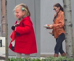 Bradley Cooper i Irina Shayk opuszczają manhattański dom gwiazdora z roześmianą córką Leą (ZDJĘCIA)