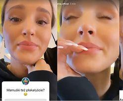 """Przejęta Marina Łuczenko płacze, bo wysłała Liama pierwszy raz do przedszkola: """"CZEKAM TU NA NIEGO"""""""
