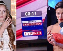 """Podejrzliwe Julia Wieniawa i Angelika Mucha dumają nad znikającymi sekundami podczas debaty prezydenckiej: """"DOBRE LICZENIE CZASU w tej naszej telewizji"""""""