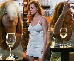 Ekspresyjna Kaja Paschalska relaksuje się w restauracyjnym ogródku, popijając białe wino i racząc się dymem z e-papierosa (ZDJĘCIA)