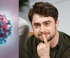 """""""Zabawny"""" Daniel Radcliffe DEMENTUJE plotki o zakażeniu koronawirusem i stwierdza: """"Schlebia mi, że TO MNIE WYBRALI"""""""