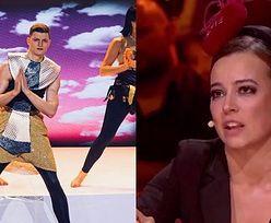 """""""Dance Dance Dance"""". Anna Mucha zachwyca się Krzysztofem Jonkiszem: """"Miesiąc temu sortowałeś ryby, dziś jesteś w prime time. Jesteś wymarzonym bohaterem telewizji"""""""