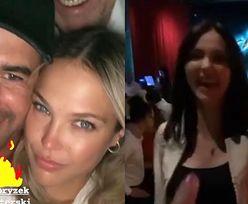 Misiek Koterski i jego nowa sympatia bawili się na jednej imprezie z MARCELĄ LESZCZAK! Zrobiło się niezręcznie?
