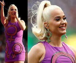 Landrynkowa Katy Perry prezentuje ciążowe krągłości na scenie w Melbourne (ZDJĘCIA)