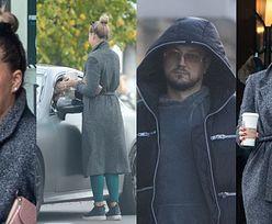 Zatroskana Sandra Kubicka dostarcza Baronowi kawusię do samochodu. Taka MIŁOŚĆ się nie zdarza? (ZDJĘCIA)