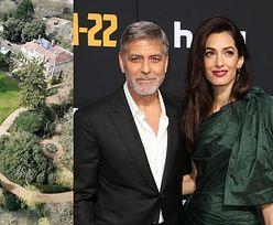 Warta 12 milionów funtów posiadłość George'a Clooneya ucierpiała w wyniku huraganu Dennis