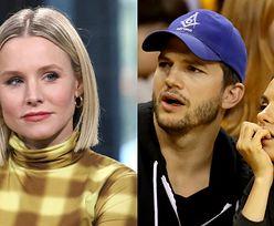 """Kristen Bell broni metod wychowawczych Mili Kunis i Ashtona Kutchera: """"Myję dzieci, KIEDY ŚMIERDZĄ"""""""