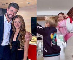 Shakira pokazała, jak tańczy z synami. Chce z nich zrobić TikTokerów? (FOTO)