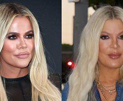 """Tori Spelling komentuje porównania swojej nowej twarzy do Khloe Kardashian. """"Jestem zaszczycona"""""""