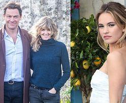 """Tajemniczy znajomy Dominica Westa zapewnia, że aktor nie zdradza żony z Lily James: """"Jest za sprytny, żeby DAĆ SIĘ PRZYŁAPAĆ w ten sposób"""""""