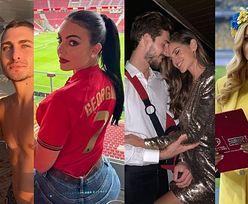 Euro 2020. Modelki, prezenterki i wokalistki - to one wspierają piłkarzy na mistrzostwach Europy (ZDJĘCIA)