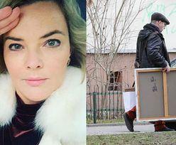 """Monika Zamachowska filozoficznie o odejściu Zbyszka: """"Kochać to znaczy pozwolić odejść"""". Z meblami...?"""