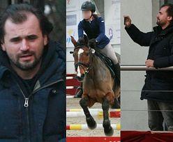 ODMIENIONY Marcin Dubieniecki kibicuje córce podczas zawodów konnych (ZDJĘCIA)