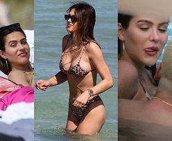 Scott Disick w nowej fryzurze i 19-letnia Amelia Hamlin spędzają dzień na plaży (ZDJĘCIA)