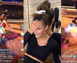 """""""Niezdarna"""" Julia Wieniawa PRZEWRACA się na parkiecie w trakcie tańca w """"zabawnym"""" TikToku: """"Hahahaha, JEZU"""" (FOTO)"""