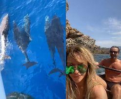 """Uradowana Joanna Przetakiewicz ekscytuje się rajskimi wakacjami w Portugalii: """"Widziałam rodzinę delfinów. Patrzcie, jak tu jest przepięknie"""" (FOTO)"""