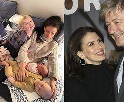 Pięć miesięcy po urodzeniu PIĄTEGO dziecka Hilaria i Alec Baldwin przywitali na świecie swoje... SZÓSTE dziecko