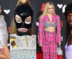 MTV VMA. Wielki bal przebierańców na czerwonym dywanie: Paris Hilton, Avril Lavigne, Shawn Mendes, Doja Cat (ZDJĘCIA)