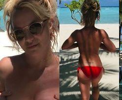 Britney Spears świętuje odzyskanie wolności, prężąc się w NAGIEJ SESJI nad oceanem (ZDJĘCIA)