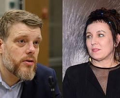 """Adrian Zandberg twierdzi, że Olga Tokarczuk POWINNA ZAPŁACIĆ podatek od Nobla: """"Wypada, żeby wszyscy byli traktowani RÓWNO"""""""