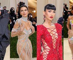 """Gala MET 2021. Zatrzęsienie gwiazd na """"modowych Oscarach"""": Kim Kardashian, Justin Bieber, Billie Eilish, Rihanna i WIELU innych (DUŻO ZDJĘĆ)"""