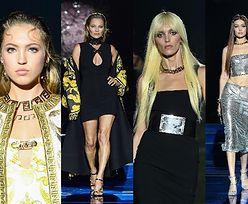 Pokaz kolekcji Versace i Fendi: Anja Rubik, Naomi Campbell, Gigi Hadid, Kate Moss z córką (ZDJĘCIA)
