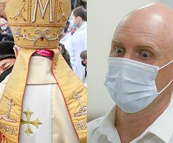 """Biskup Antoni Długosz POGODZI syna Krzysztofa Krawczyka z macochą?! """"Ewa dzwoniła z prośbą o modlitwę"""""""
