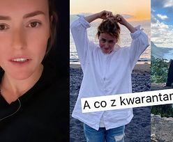 """Olga Frycz tłumaczy, dlaczego NIE ODBYŁA kwarantanny po powrocie z Teneryfy: """"MNIE TO NIE DOTYCZY"""""""