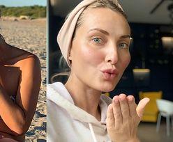"""Joanna Moro IRYTUJE fanów zdjęciem podczas karmienia piersią: """"Czy to konto jest od CHWALENIA SIĘ DZIECKIEM?"""" (FOTO)"""