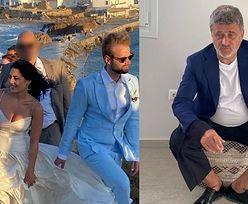 Janusz Palikot relacjonuje ślub syna wprost ze świątyni Apollina