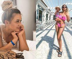 """Sylwia Przybysz pozuje w bikini i odpowiada na zachwyty nad swoją sylwetką po ciąży. """"Został mi jeszcze brzuszek"""" (ZDJĘCIA)"""